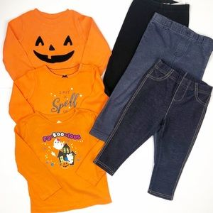 Carter's Trick or Treat Halloween Mix & Match Set